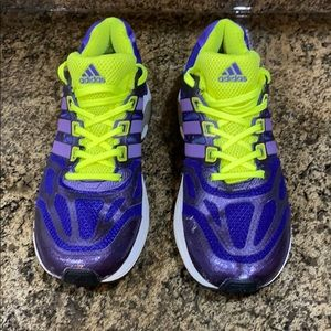 Adidas Purple Supernova Shoes